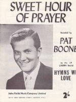 Pat Boone - Sweet Hour Of Prayer